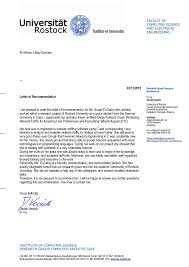 Recommendation Letter For Electrical Engineer Faculty