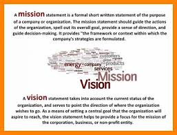 mission statement examples business business mission statement example 10 non profit template carsell co
