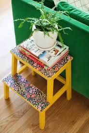 Diy Ikea Bekvam Stool Side Table