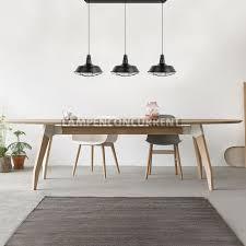 Zwarte Industriële 3 Lichts Eettafel Hanglamp Torino 558301
