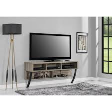 stylish altra asher sonoma oak wall mounted 65 inch tv stand wall tv stand ideas