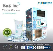 Self Serve Ice Vending Machines Near Me Mesmerizing China SelfService Ice Vending Machine F48 China SelfService