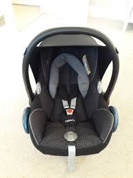 like new maxi cosi cabriofix with clippasafe infant car seat rain cover