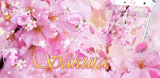 Pink <b>Sakura</b> Theme - Apps on Google Play