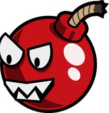 fuse clipart cartoon cherry bomb enemy remix