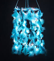 Pictures Of Dream Catchers Mesmerizing Buy Daedal Dream Catchers Blue Colour With Lights DDC32 Online At