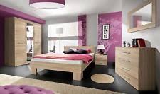 contemporary oak bedroom furniture. Olga 6 Piece Bedroom Set Home Furniture Sonoma Oak European King Size Contemporary M