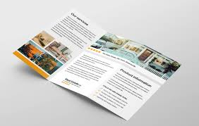 Real Estate Brochure Template Free Free Real Estate Trifold Brochure Template In Psd Ai