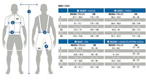 Men Vam Size Chart Xterra Malta