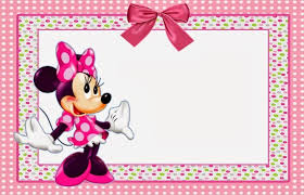Free Minnie Mouse Birthday Invitations Minnie Mouse Birthday Party Invitations Free Free Minnie