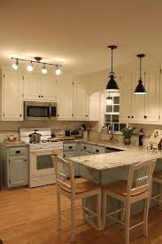 bright kitchen lighting. a great way to keep things light and bright but not worry about all white cabinets kitchen lighting h