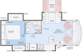 >vista lx floorplans winnebago rvs