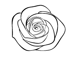 Disegno Di Una Rosa Da Colorare Fredrotgans