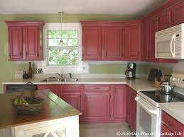 country kitchen paint colorsBeautiful country kitchen cabinets paint colors idea  Home Design