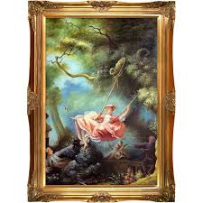 the swing c 1765 by jean honore fragonard framed painting on canvas