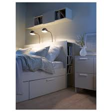 ikea brimnes bed. BRIMNES Headboard With Storage Compartment - Full/Double IKEA Ikea Brimnes Bed E
