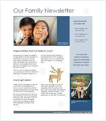word document newsletter templates 7 family newsletter templates free word documents download
