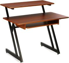 on stage stands ws7500 wooden workstation rosewood image 1