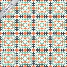 Mosaic Pattern Beauteous Geometric mosaic pattern Vector Free Download
