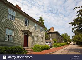 federal style john langley house newport rhode island usa stock federal style john langley house newport rhode island usa