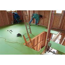 durable high density moisture resistant p5 grade chipboard flooring tongue and groove design for easy installation