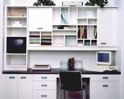 Custom Office /Desk With Upper Cabinets Traditional-home-office  Houzz