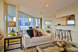 decorating small living room. view of seattle from downtown condo mel curtisphotographeru0027s choice rfgetty images decorating a small living room o
