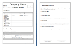 Monthly Report Template Word Adorable Construction Weekly Progress Report Template