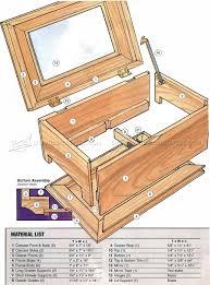 jewelry box plans pdf