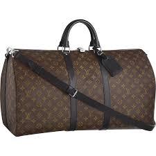 louis vuitton luggage men. louis vuitton keepall 55 with strap m56714 brown luggage men g