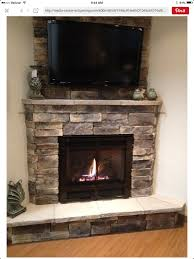 possible corner fireplace design diffe stone