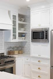 kitchen white subway tiles with gray grout