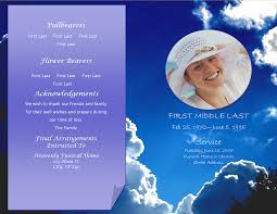 Funeral Program Template Microsoft LifecyclePrints Celebration Of Life Funeral Program Templates 22