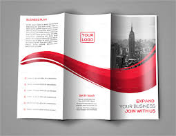 Simple Tri Fold Brochure Template 3 Column Brochure Template