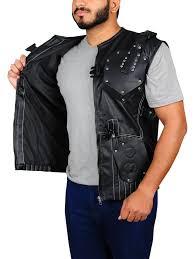 roadblock g i joe retaliation leather vest