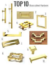 brass kitchen cabinet hardware my top brass hardware picks solid brass kitchen cabinet hardware