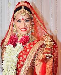 indian bridal makeup look of bipasha b