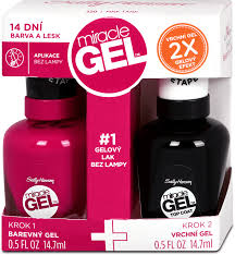 Lak Na Nehty Miracle Gel Duopack 220 294 Ml