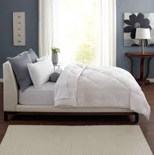 Bedroom: King Size Down Comforter With White Mattress And Standing ... & Comfortable King Size Down Comforter For Modern Bedroom Decoration: King  Size Down Comforter With White Adamdwight.com