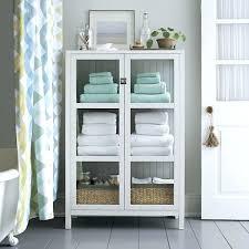 diy bathroom linen closet