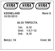 Exacta Box Chart Sandwich Play A Trifecta Wagering Strategy Getting Out