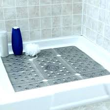 shower mats without suction cups extra large shower stall mat anti slip shower mat with suction