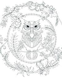 Keep Out Coloring Pages Printable Owl For Adults Also Design Nature