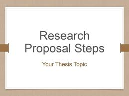 Powerpoint Template Research Research Proposal Steps Powerpoint Presentation Slides