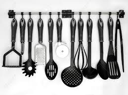 kitchen utensils images. Interesting Kitchen Kitchen Utensils Hanging White Background Stock Photo  16559772 To Kitchen Utensils Images N