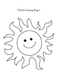 Sun Template Printable Free Printable Sun Coloring Pages Its Tech Co