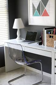 ikea tobias chair and micke desk in home office