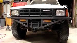 Homemade Front and Rear Bumpers-Toyota Pickup - YouTube