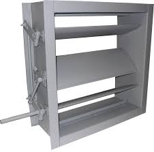 air conditioning damper. air foil control damper conditioning r