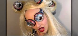 how to recreate lady a s soda can hairstyle from telephone makeup wonderhowto